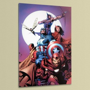 Avengers #80 LIMITED EDITION Giclee on Canvas by David Finch and Marvel Comics