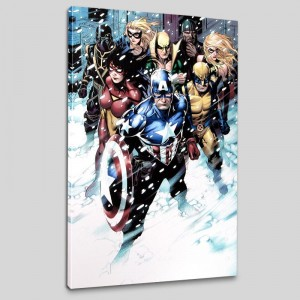 Free Comic Book Day 2009 Avengers #1 LIMITED EDITION Giclee on Canvas by Jim Cheung and Marvel Comics