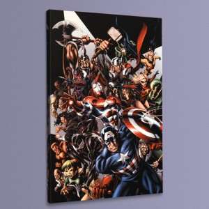 Avengers Assemble #1 LIMITED EDITION Giclee on Canvas by Mike McKone and Marvel Comics