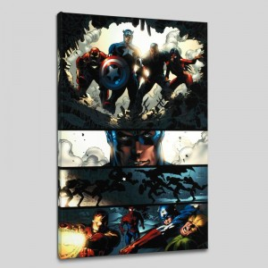Amazing Spider-Man #523 LIMITED EDITION Giclee on Canvas by Mike Deodato Jr. and Marvel Comics
