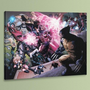 Avengers: The Children's Crusade #2 LIMITED EDITION Giclee on Canvas by Jim Cheung and Marvel Comics