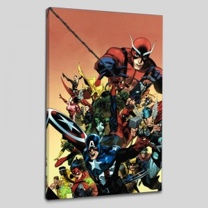 I Am An Avenger #1 LIMITED EDITION Giclee on Canvas by Leinil Francis Yu and Marvel Comics