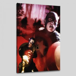 Captain America #603 Limited Edition Giclee on Canvas by Gerald Parel and Marvel Comics