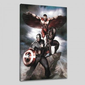 Captain America: Hail Hydra #3 Limited Edition Giclee on Canvas by Adi Granov and Marvel Comics