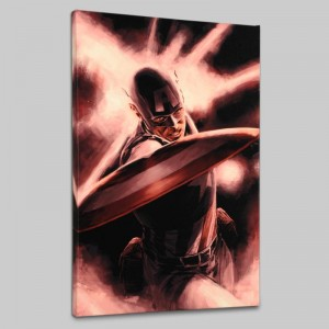 Captain America Theater of War: A Brother in Arms #1 LIMITED EDITION Giclee on Canvas by Mitchell Breitweiser and Marvel Comics