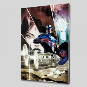 Captain America: Forever Allies #3 Limited Edition Giclee on Canvas by Lee Weeks and Marvel Comics