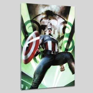 Captain America: Hail Hydra #1 LIMITED EDITION Giclee on Canvas by Adi Granov and Marvel Comics