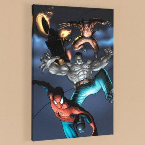 Fear Itself: Fearsome Four #2 LIMITED EDITION Giclee on Canvas by Simon Bisley and Marvel Comics