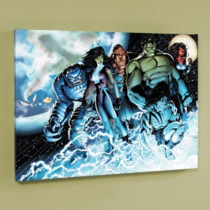 Incredible Hulks #615 Limited Edition Giclee on Canvas by Barry Kitson and Marvel Comics