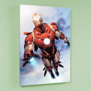 Invincible Iron Man #25 LIMITED EDITION Giclee on Canvas by Salvador Larroca and Marvel Comics