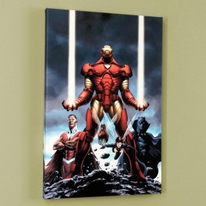 Iron Man #84 Limited Edition Giclee on Canvas by Steve Epting and Marvel Comics