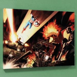 Fallen Son: Death of Captain America #5 Limited Edition Giclee on Canvas by John Cassaday and Marvel Comics
