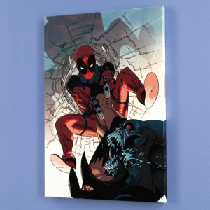 Deadpool #6 LIMITED EDITION Giclee on Canvas by Jason Pearson and Marvel Comics