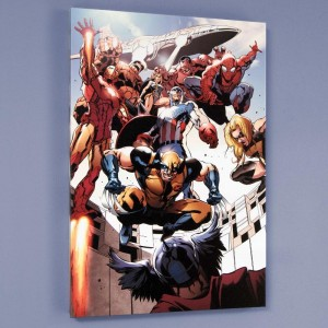 Annihilators: Earthfall #1 LIMITED EDITION Giclee on Canvas by Tan Eng Huat and Marvel Comics