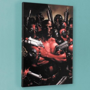 Deadpool #2 Limited Edition Giclee on Canvas by Clayton Crain and Marvel Comics! Numbered with Certificate of Authenticity! Gallery Wrapped and Ready to Hang!