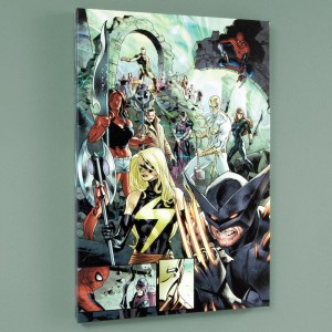 Fear Itself #7 LIMITED EDITION Giclee on Canvas by Stuart Immonen and Marvel Comics