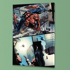 Amazing Spider-Man #526 Limited Edition Giclee on Canvas by Mike Deodato Jr. and Marvel Comics! Numbered with Certificate of Authenticity! Gallery Wrapped and Ready to Hang!
