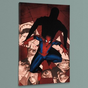 Fear Itself: Spider-Man #1 Limited Edition Giclee on Canvas by Marko Djurdjevic and Marvel Comics