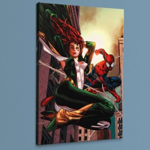 Amazing Spider-Man Family #6 LIMITED EDITION Giclee on Canvas by Paulo Siqueira and Marvel Comics