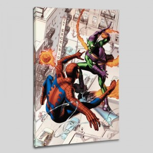 Dark Reign:The Goblin Legacy One-Shot Limited Edition Giclee on Canvas by Mike Mayhew and Marvel Comics! Numbered with Certificate of Authenticity! Gallery Wrapped and Ready to Hang!