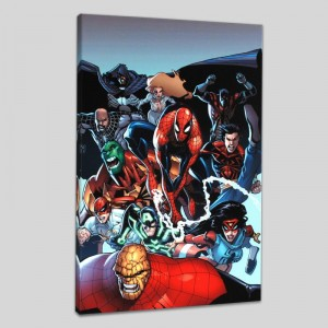 Amazing Spider-Man #667 Limited Edition Giclee on Canvas by Humberto Ramos and Marvel Comics