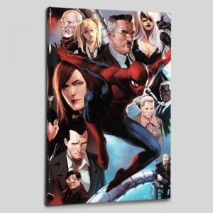 Amazing Spider-Man #645 Limited Edition Giclee on Canvas by Marko Djurdjevic and Marvel Comics