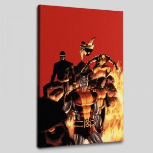 Astonishing X-Men #13 Limited Edition Giclee on Canvas by John Cassaday and Marvel Comics! Numbered with Certificate of Authenticity! Gallery Wrapped and Ready to Hang!