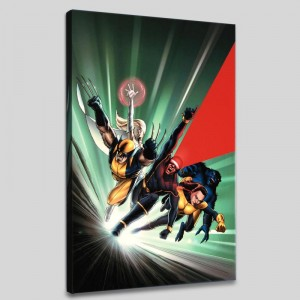 Astonishing X-Men #1 Limited Edition Giclee on Canvas by John Cassaday and Marvel Comics! Numbered with Certificate of Authenticity! Gallery Wrapped and Ready to Hang!
