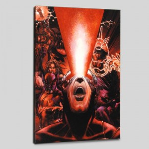 Astonishing X-Men #30 Limited Edition Giclee on Canvas by Simone Bianchi and Marvel Comics! Numbered with Certificate of Authenticity! Gallery Wrapped and Ready to Hang!