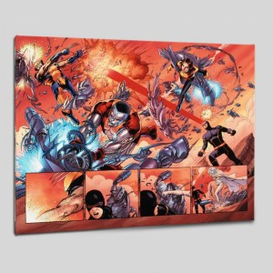 Astonishing X-Men N12 Limited Edition Giclee on Canvas by John Cassaday and Marvel Comics! Numbered with Certificate of Authenticity! Gallery Wrapped and Ready to Hang!