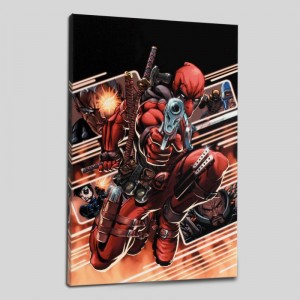 Cable & Deadpool #9 Limited Edition Giclee on Canvas by Patrick Zircher and Marvel Comics! Numbered with Certificate of Authenticity! Gallery Wrapped and Ready to Hang!