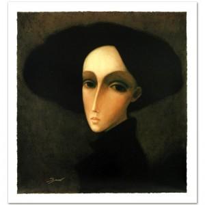 "Legendary Russian Artist Sergey Smirnov (1953-2006)! ""Baroness"" Limited Edition Mixed Media on Canvas"
