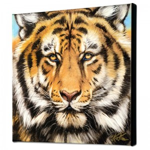 Terrific Tiger Limited Edition Giclee on Canvas by Martin Katon