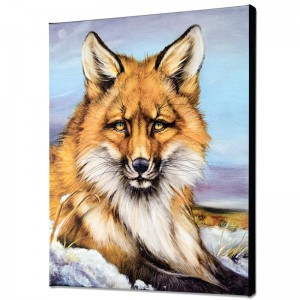 Fantastic Fox Limited Edition Giclee on Canvas by Martin Katon