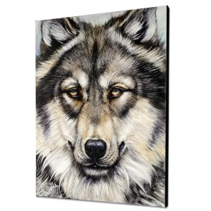 Wonderful Wolf Limited Edition Giclee on Canvas by Martin Katon