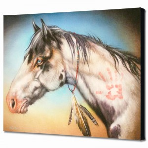 Hand Healer Limited Edition Giclee on Canvas by Martin Katon
