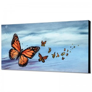 Monarch Migration Limited Edition Giclee on Canvas by Martin Katon