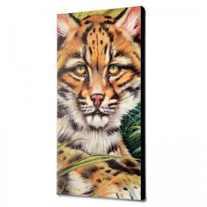 Ocelot Eyes Limited Edition Giclee on Canvas by Martin Katon