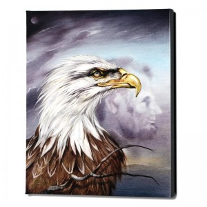 Regal Eagle Limited Edition Giclee on Gallery Wrapped Canvas by Martin Katon