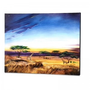 Africa at Peace Limited Edition Giclee on Gallery Wrapped Canvas by Martin Katon