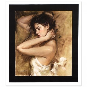Simply Stunning Limited Edition Hand Embellished Giclee on Canvas by Andrew Atroshenko