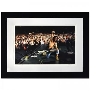 Eddie Van Halen Limited Edition Giclee by Rob Shanahan