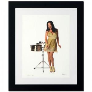 Sheila E. Limited Edition Giclee by Rob Shanahan