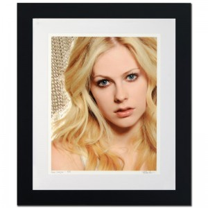 Avril Lavigne Limited Edition Giclee by Rob Shanahan