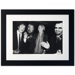 Paul McCartney, Joe Walsh, Keith Richards & Ringo Starr Limited Edition Giclee by Rob Shanahan