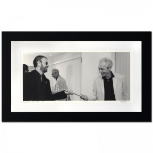 Ringo Starr & Charlie Watts Limited Edition Giclee by Rob Shanahan