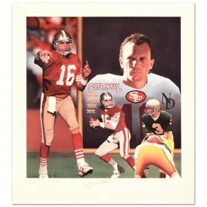 """Daniel M. Smith - """"Tribute"""" Limited Edition Lithograph Dated (1991)"""