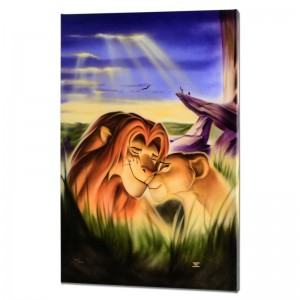 Family Pride Limited Edition Giclee on Canvas from a Sold Out Edition by Noah