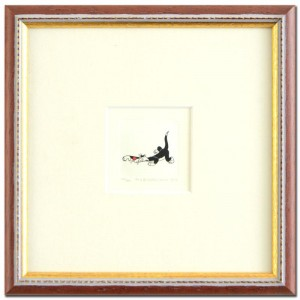 Sylvester Framed Limited Edition Hand-Tinted Etching (Dated 1999) from Warner Bros.!