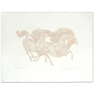 """Guillaume Azoulay - """"Progression"""" Limited Edition Etching"""